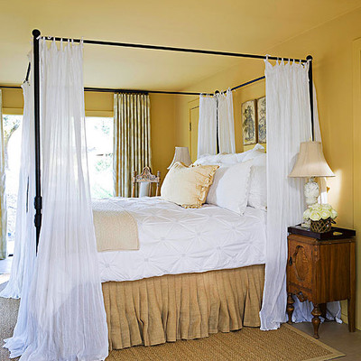 Đây là phòng ngủ rất phù hợp với người mệnh kim.