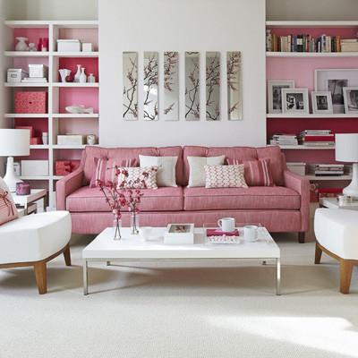 Lãng mạn không gian nhà bạn với sắc hồng 6
