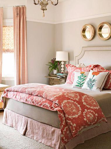 Phòng ngủ lãng mạn đậm chất Thu 6