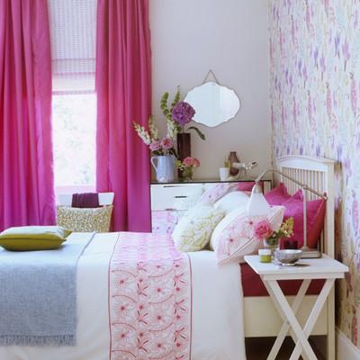 Lãng mạn không gian nhà bạn với sắc hồng 9