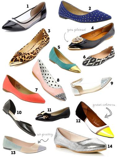 1. Giày bệt mũi nhọn 1
