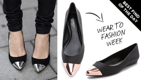 2. Giày bệt cap-toe 1