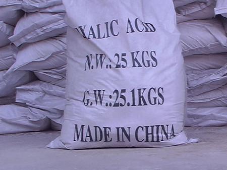 Đây là hóa chất được ông Lâm dùng để tẩy trắng măng.