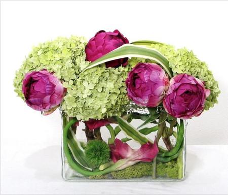 2. Cách cắm hoa cẩm tú cầu theo phong cách hiện đại 2