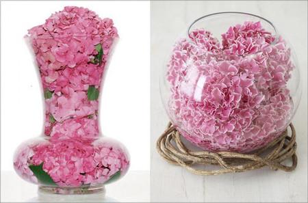 3. Cách cắm hoa cẩm tú cầu theo nghệ thuật sắp đặt 1