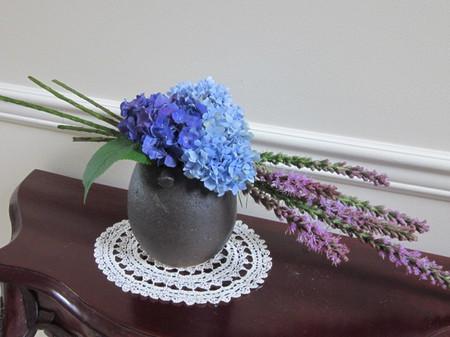 4. Cách cắm hoa cẩm tú cầu theo nghệ thuật ikebana 1