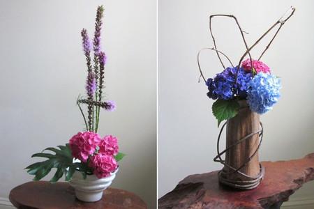 4. Cách cắm hoa cẩm tú cầu theo nghệ thuật ikebana 2