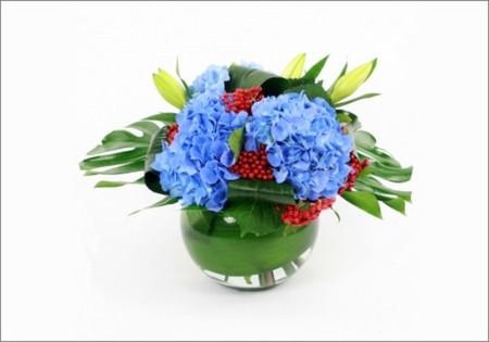 5. Cách cắm hoa cẩm tú cầu theo cách tổng hợp hài hòa 1