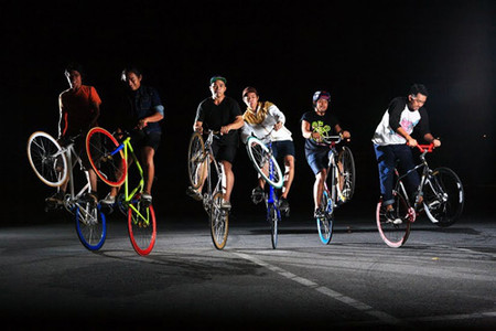 Làn sóng xe đạp không phanh Fixed Gear khiến giới trẻ mê đắm