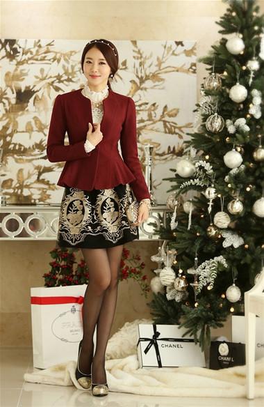 Mẫu áo khoác dạ nữ dáng ngắn đẹp và mốt nhất mùa đông 2013 - 2014  10