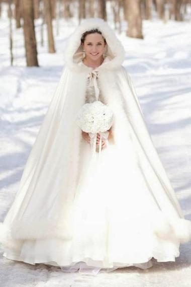 Áo khoác cho cô dâu những ngày rét đậm 11