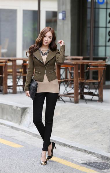 Mẫu áo khoác dạ nữ dáng ngắn đẹp và mốt nhất mùa đông 2013 - 2014  12