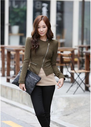 Mẫu áo khoác dạ nữ dáng ngắn đẹp và mốt nhất mùa đông 2013 - 2014  13