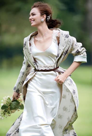 Áo khoác cho cô dâu những ngày rét đậm 15