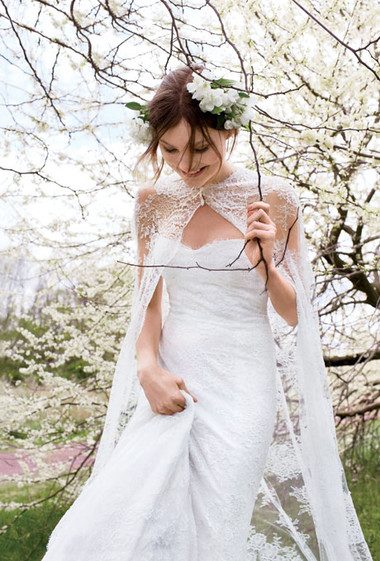 Áo khoác cho cô dâu những ngày rét đậm 17