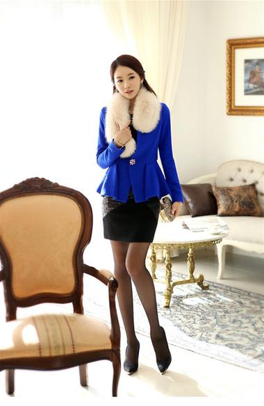 Mẫu áo khoác dạ nữ dáng ngắn đẹp và mốt nhất mùa đông 2013 - 2014  2