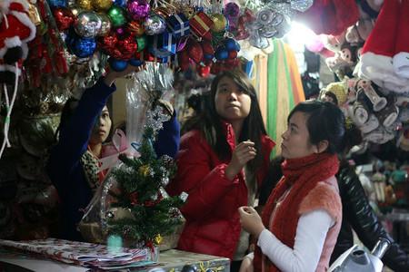 Hà Nội tưng bừng đón Noel 2