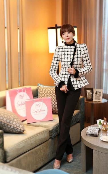 Mẫu áo khoác dạ nữ dáng ngắn đẹp và mốt nhất mùa đông 2013 - 2014  4