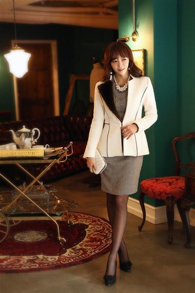 Mẫu áo khoác dạ nữ dáng ngắn đẹp và mốt nhất mùa đông 2013 - 2014  7