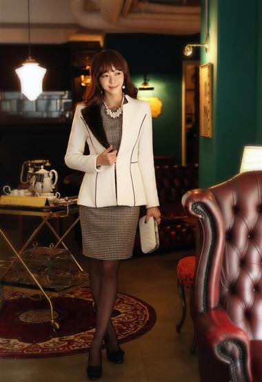 Mẫu áo khoác dạ nữ dáng ngắn đẹp và mốt nhất mùa đông 2013 - 2014  8