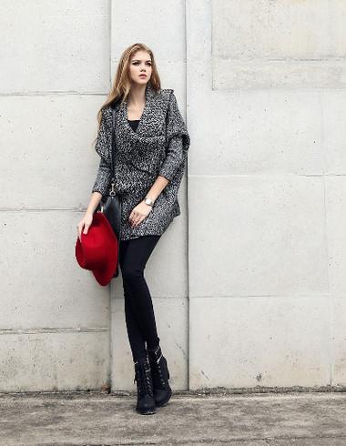 2. Áo khoác len nữ 2