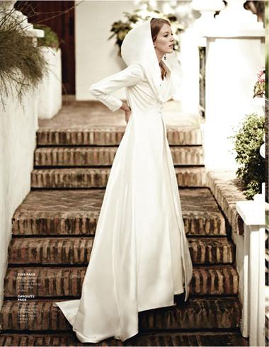 Áo khoác cho cô dâu những ngày rét đậm 9