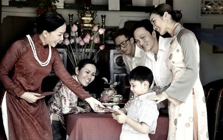 Tiền mừng tuổi thực chất là văn hóa mang tính truyền thống