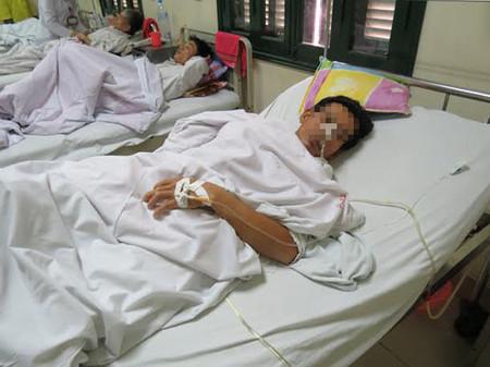Ông Đ.Đ.Đ được điều trị tại Bệnh viện Việt Đức