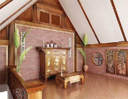 Phong thủy bàn thờ theo phong tục tập quán 1