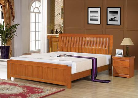 Gỗ và chiều cao hợp lý là hai yếu tố quan trọng làm nên một chiếc giường hoàn hảo theo phong thuỷ.