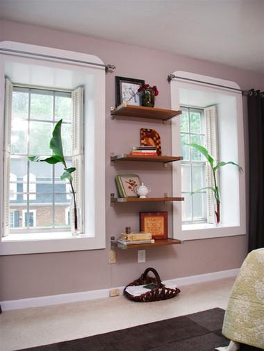 Độc đáo với cách trang trí nhà bằng kệ gỗ - Không Gian Sống - Cẩm nang gia đình - Trang trí nhà đẹp