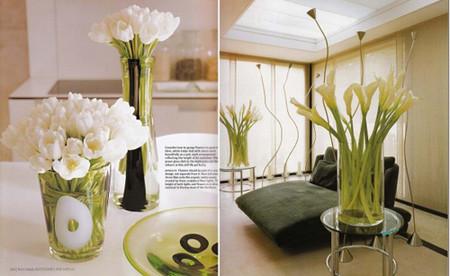 Mang sự lãng mạn đến không gian nhà bạn với cách cắm hoa độc đáo 14