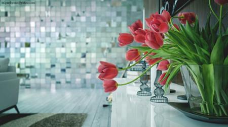 Mang sự lãng mạn đến không gian nhà bạn với cách cắm hoa độc đáo 16