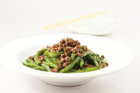 đậu đũa xào thịt băm tuy đơn giản và nhanh gọn nhưng thành phẩm lại rất ngon miệng và đảm bảo đủ chất dinh dưỡng cho cả nhà.