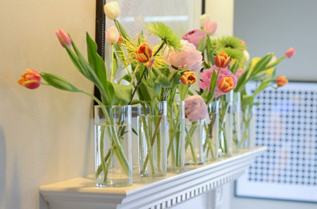 Mang sự lãng mạn đến không gian nhà bạn với cách cắm hoa độc đáo 6