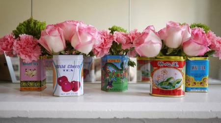 Mang sự lãng mạn đến không gian nhà bạn với cách cắm hoa độc đáo 9
