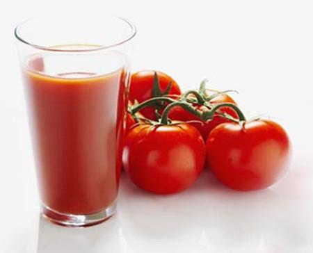 Nước ép cà chua, đu đủ chín 1