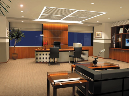 Một văn phòng được thiết kế tốt là nơi có ánh sáng hài hòa, đầy đủ.