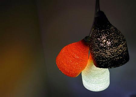 Đèn treo trang trí độc đáo từ chai nhựa 1