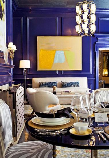 Ngôi nhà của bạn trở nên 'sang chảnh' và thời thượng với sắc xanh cô-ban  1