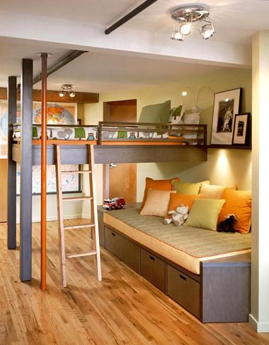 Biến gầm giường thành không gian lưu trữ đồ 4