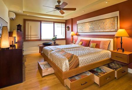Biến gầm giường thành không gian lưu trữ đồ 8