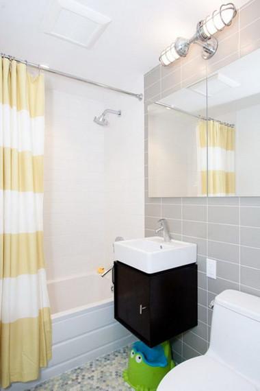 Bài trí nhà tắm tiện ích với không gian nhỏ hẹp 10