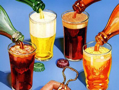 1. Thường xuyên uống đồ uống có ga 1