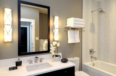 Bài trí nhà tắm tiện ích với không gian nhỏ hẹp 2