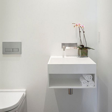 Bài trí nhà tắm tiện ích với không gian nhỏ hẹp 3