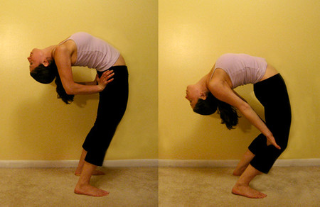 3. Bài tập đứng và gập lưng 1