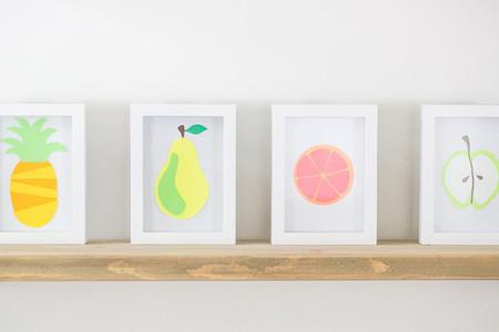 Trang trí phòng bé với tranh trái cây thật độc đáo 1