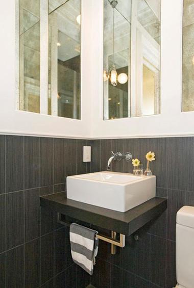 Bài trí nhà tắm tiện ích với không gian nhỏ hẹp 7