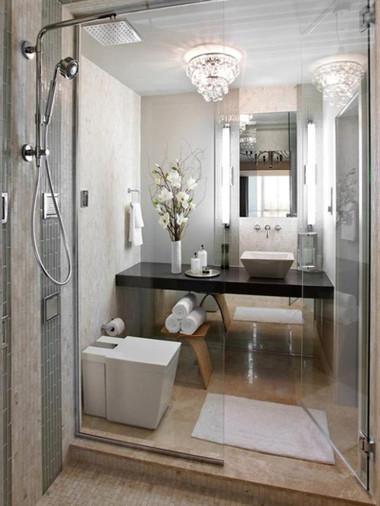 Bài trí nhà tắm tiện ích với không gian nhỏ hẹp 8